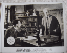 Goodbye Mr Chips, MGM FOH Still, Robert Donat, Greer Garson, '39 e